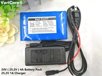 24V 4 Ah 6S2P 18650 Battery Lithium Battery 25.2 v Electric Bicycle Moped \/Electric\/Lithium ion Battery Pack Free shopping