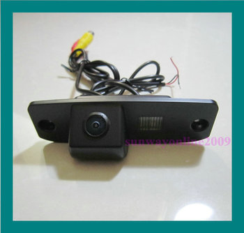 HD !!! CAR CCD/170 DEGREE/WATERPROOF/WITH REFERENCE LINE CAMERA FOR Hyundai Elantra Terracan Tucson Accent image