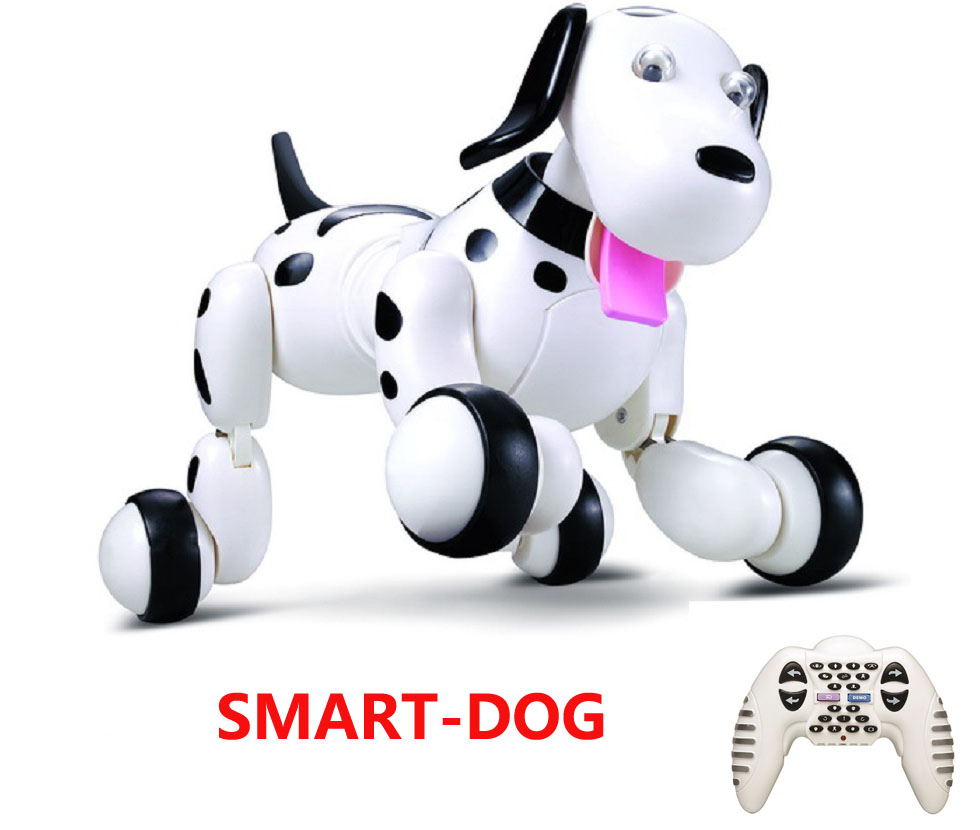 2.4G Wireless Remote Control Smart Dog Electronic Pet Educational Children's Toy Intelligent Walking Dancing Robot Dog RC Toys pet safe electronic shock vibrating dog training collar with remote control 2 x aaa 1 x 6f22 9v