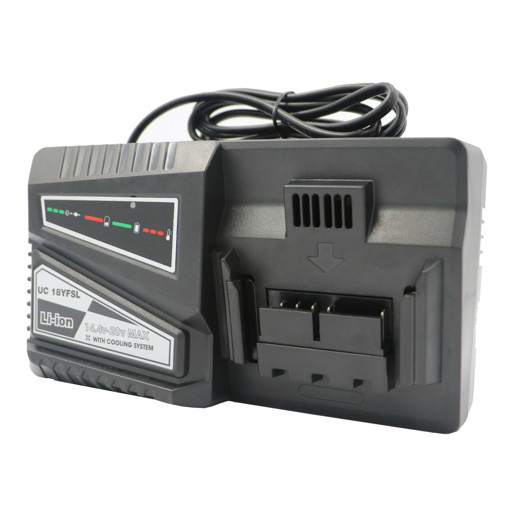 DVISI UC18YFSL Lithium Battery faster Charger for HITACHI battery OUTPUT14 4V 18V 4 5A INPUT 100