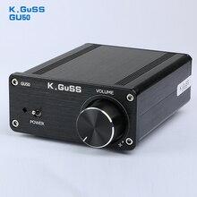 2017 NOUVEAU K. GuSS GU50 HIFI 2.0 classe D TPA3116 Mini charge audio amplificateur de puissance amplificateur 2*50 w DC12V à DC24V