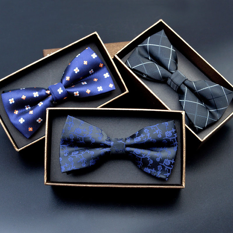 Kişilər üçün Bow Ries 2017 Ən Yeni Polyester Bow Tie Markası Kişi Polka Dot Bowtie Necktie Business Wedding Kişi Neckties Gravata Borboleta