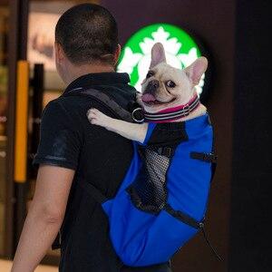 Image 3 - Breathable Pet Dog Carrier Bag for Large Dogs Golden Retriever Bulldog Backpack Adjustable Big Dog Travel Bags Pets Products