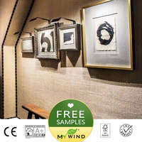 2019 MY WIND natural wall paper luxury Wallpaper jute fabric grasscloth 3D wallpapers designs vintage classic home decor bedroom