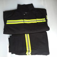 Fire suit clothes pants Fireman fire fighting flame retardant under fire protective clothing tiny fire station