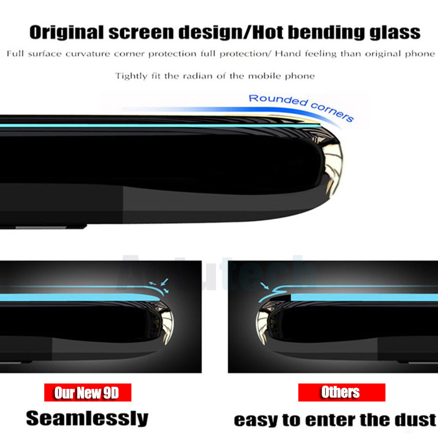 9D Full Glue Cover Tempered Glass For Xiaomi Redmi Note 6 Pro Screen Protector Film For Xiaomi Redmi Note 6 Pro Glass in Phone Screen Protectors from Cellphones Telecommunications