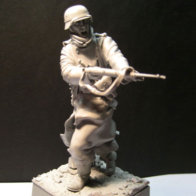 1/16 Resin figures historical model kits soldier Unpainted image