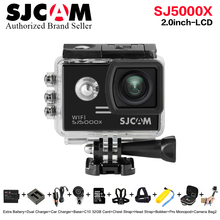 Original SJCAM SJ5000X Elite Gyro Sport Action Camera WiFi 4K 24fps 30fps 30M Waterproof SJ CAM 5000x Better go pro 5 Sports DV