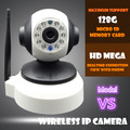 wireless 720P mini Smartlink wifi IP camera Night Vision Plug and Play Motion detect Audio in/out 128GB SD Card slot Onvif