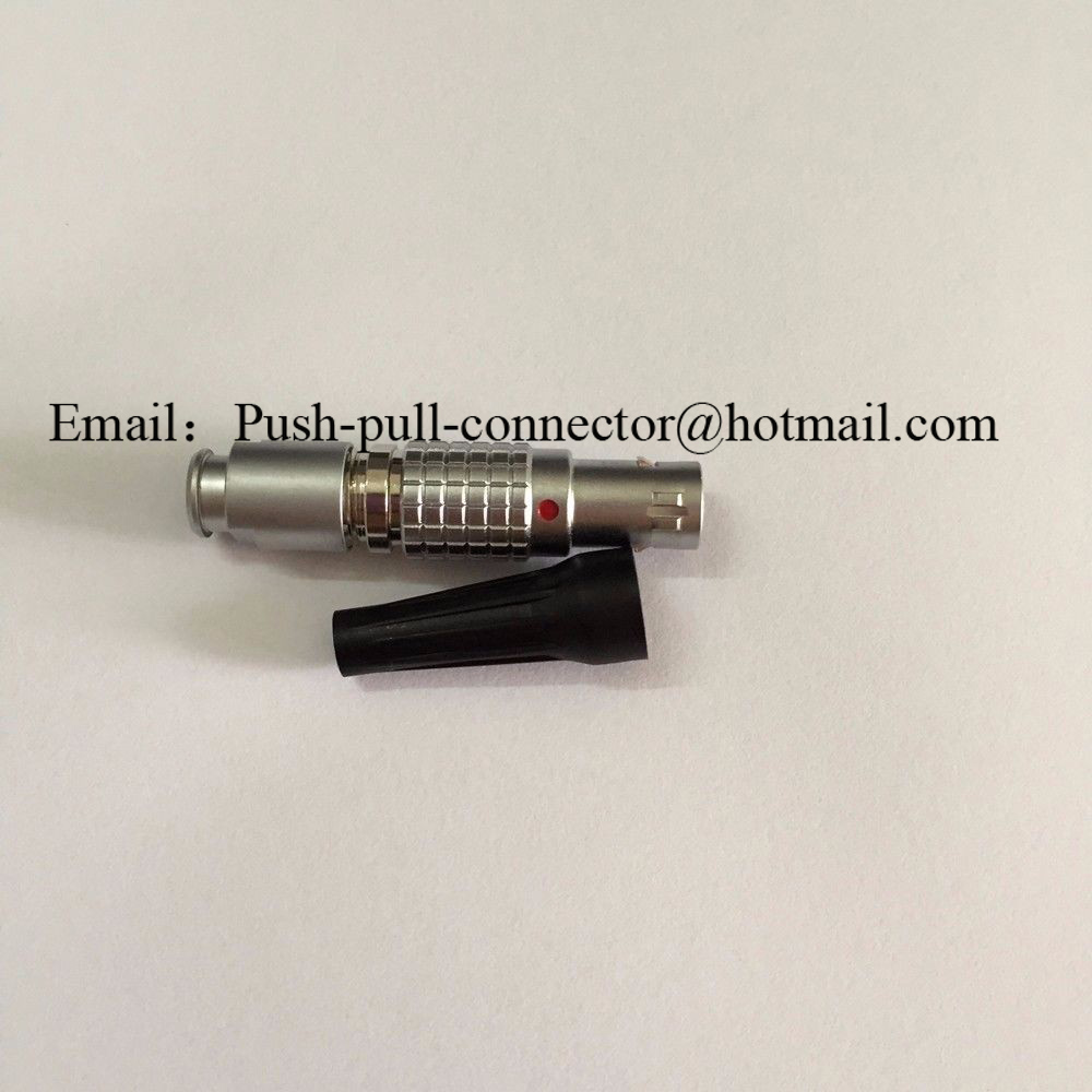 Image 2 - LEMO Connector FGA 0B 2 3 4 5 6 7 9 Pin Two Keying Male Plug LEMO 0B Connector For Topcon Trimble Leica-in Connectors from Lights & Lighting