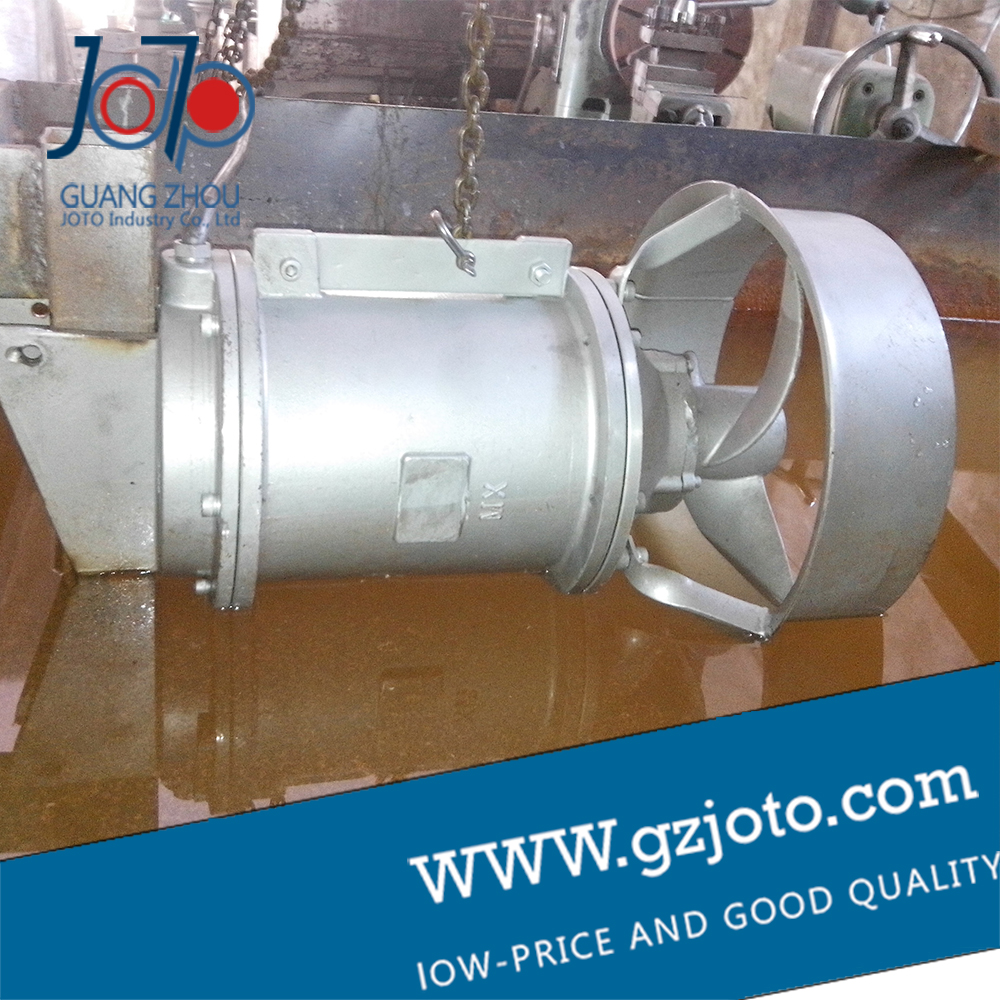Submersible mixer QJB0.85/8-260/3-740/C/S as a whole host of stainless steel propeller sewage anaerobic tank stainless steel sewage export to 56 countries 100m3 h electric submersible sewage pump