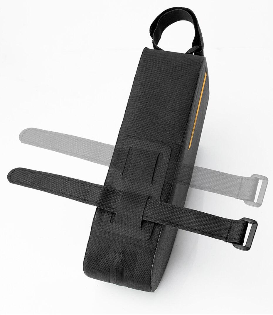 Coolchange bolsa impermeável para bicicleta, bolsa portátil