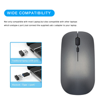 Bluetooth Wireless Mouse Silent PC Maus Raton Rechargeable Muis Ergonomic Mause USB Type C Optical Mice For Laptop Computer