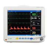 Commercial home Multi parameter ECG monitor intensive operating room ambulance monitor 110v/220v 750w 1pc