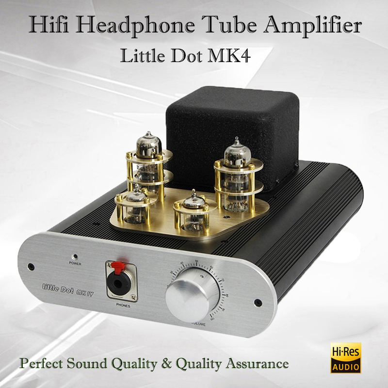 Little Dot MK IV SE Hifi Headphone Tube Amplifier Portable Preamp Tube Headphone Amp Audio Vacuum Tube Amplifier Preamplifier