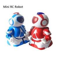 미니 로봇 2 개 세트 크리스마스 선물 슈퍼 Q 스타 워즈 불꽃 슈퍼맨 원격 제어 장난감 상호 로봇 새로운 스타일 로봇