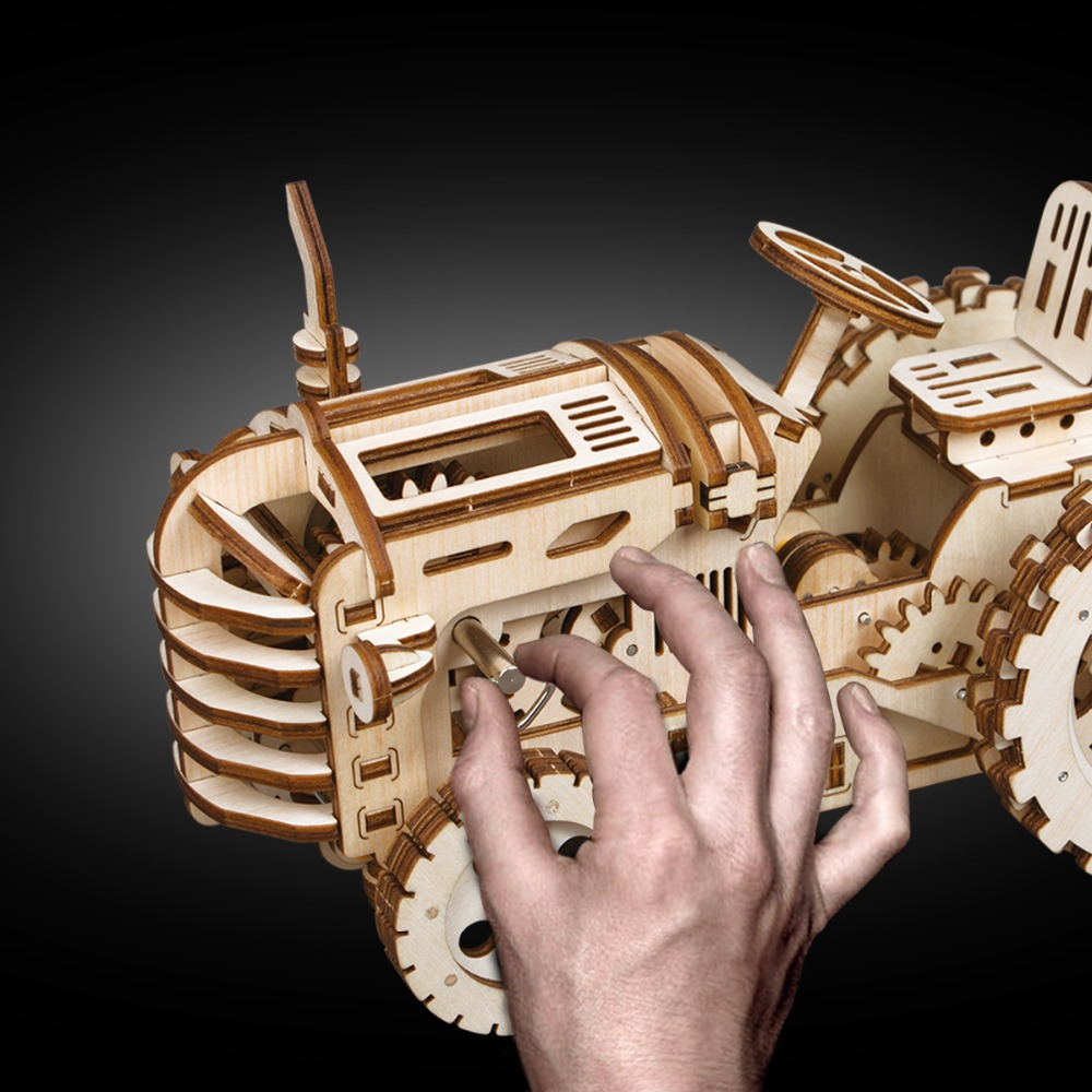 Robotime-Creative-DIY-Gear-Drive-Tractor-3D-Wooden-Model-Building-Kits-Toys-Hobbies-Gift-for-Children