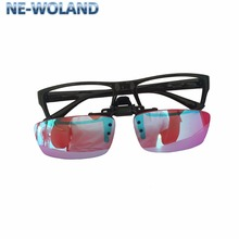 Red and green color blindness, weakness correction frame glasses for  art ,chemical, construction design myopia