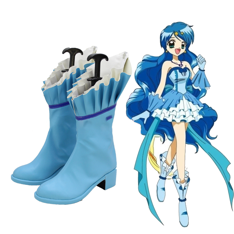 Anime Mermaid Melody Hanon Hosho Boots Cosplay  Custom-made