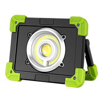 20W Waterproof Work Lamp Led Work Light Built in Battery USB Rechargeable 3 Modes Portable Light For Outdoor Camping Werklamp
