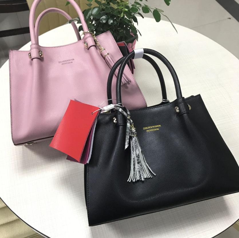 ZOOLER losing sales 2017 NEW genuine leather bag woman leather handbags top handle 100% cowhide bolsa feminina#h109
