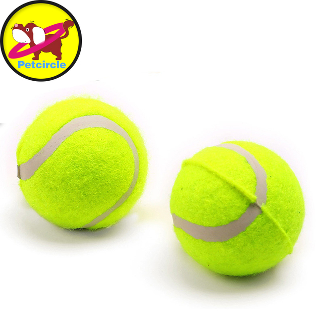 6cm Giant Tennis Ball For Pet Chew Toy Big Inflatable Tennis Ball