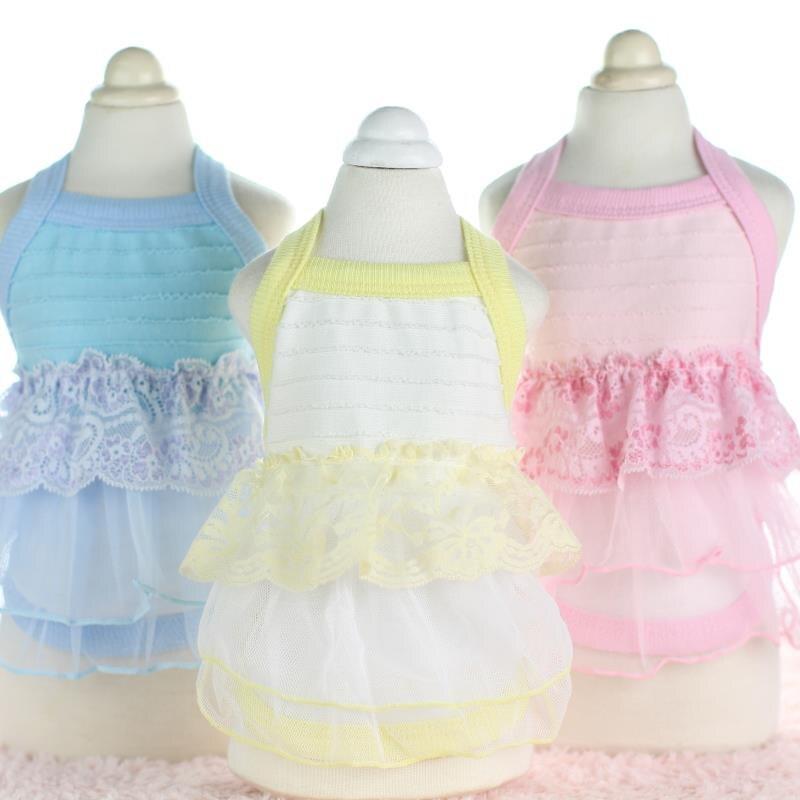 Vajzat e ëmbël të Princeshave me Lace Princesha Veshje për Qentë - Produkte për kafshet shtëpiake - Foto 1