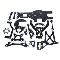 Разъем углеродного волокна Комплект Fit 1/5 HPI Rovan Baja 5B ss король мотор грузовик части
