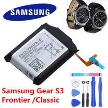 SAMSUNG Bateria Original EB-BR760ABE Para Samsung Engrenagem S3 Fronteira/Classic EB-BR760A SM-R760 SM-R770 SM-R765 SM-R765S 380mAh