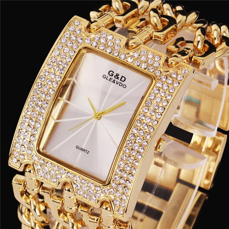 2019 Brand Ladies Watch European And American Style Wide Bracelet Nightclub Sexy Luxury Watch Women Wristwatches Quartz Watch Lu