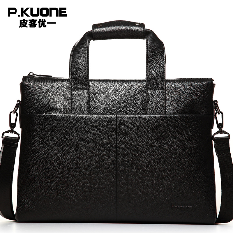 New Arrival 2017 Briefcase Bag Men Fashion Shoulder Bags Genuine PU Leather Bag High Quality Men's Business Travel Bags P630551 new arrival brand genuine leather pu business handbag men s briefcase bag men messenger bag fashion men travel bag