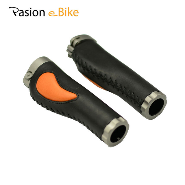 Pasion e велосипед алюминиевого сплава кожа Ухваты Черный Quick Release велосипед Запчасти