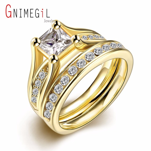 Enement Rings Stores | Aliexpress Com Buy Gnimegil Brand Jewelry Luxury Cocktail Ring