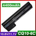 4400 mah bateria do portátil para hp mini 110-3000 mini110 607762-001 607763-001 hstnn-db1u wq001aa 06ty para compaq mini cq10