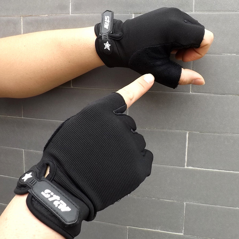 Nuevos guantes tácticos de pesca de medio dedo antideslizantes para hombre deportes al aire libre guantes de camuflaje Airsoft tiro de caza S-2XL