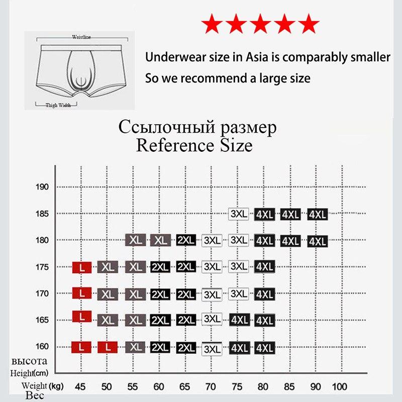Wtempo Brand Boxer Hot Sale Sexy Men's Underwear Shorts New Fashion Boxer Men Modal Cotton Print Underpants Wholesale 4 Pcs/lot #2