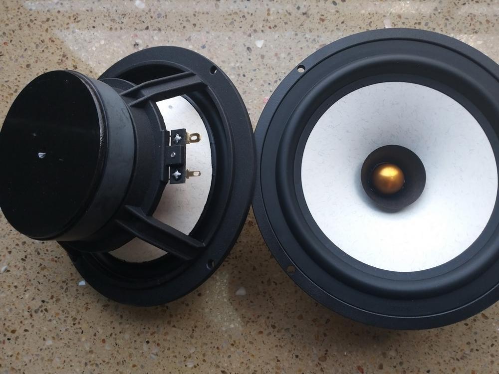 2unit HiFI 6.5 7 Inch  MICA Mix Paper Cone   Fullrange Speaker  Full Range Woofer Pair