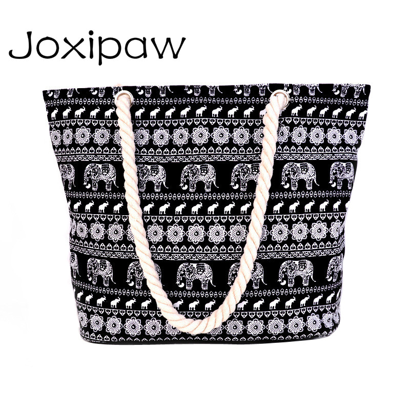 Bag Canvas Handbags Large Beach Bags Shoulder Bag Many Styles To Choose Drop Shopping Joxipaw