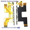 Z4 originais mainboard lcd flex cable para sony xperia z4 z3 + e6533 microfone flex cable peças de reposição