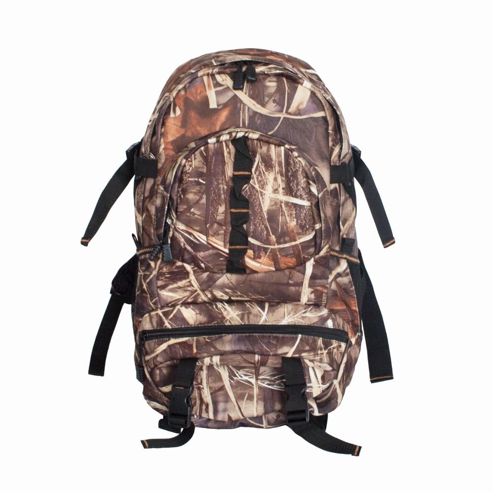 2018 nouveau tactique flanelle Camo jour Pack Reed Camouflage Molle en plein air sacs chasse sac à dos pour randonnée pêche armée sacs grand