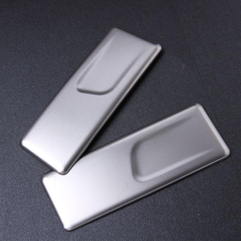 Pengekalan Kereta Rear Armrest Box Kereta Pemegang Cakera Sticker Untuk Mercedes Benz C Kelas W205 GLC X253 GLA X156 S Class A Class CLS