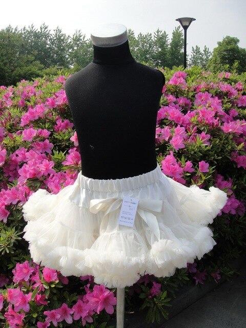 Holiday Free Shipping hot sale chiffon fluffy colorful fashion pettiskirts for kids PETS-037