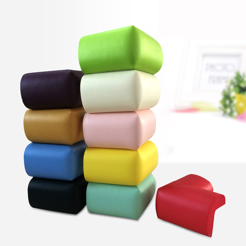 (10pcs/lot) Hot Baby Child Safety Corner Baby Protector Essential Protection 10 Colors Can Be Choose Soft Corner Guard Perfectly