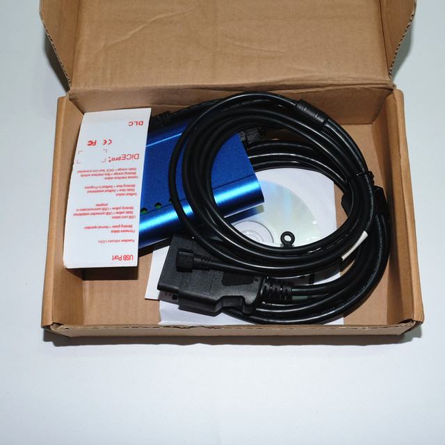 Blue with carton box