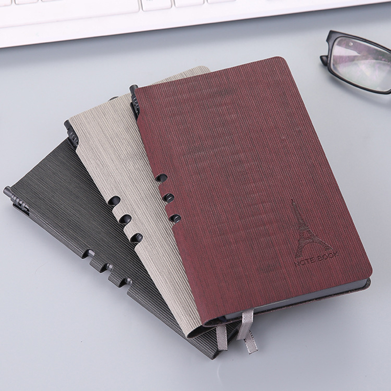 Leather Cover Business Notebook Paper Journals Traveler Notebooks Lined Paper Note book Stationery Office School Supplies 500 page loose leaf note paper 90 90 mm note paper office supplies 1125