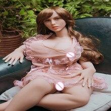 סקס בובות #7 מלא TPE עם שלד למבוגרים יפני אהבת בובת נרתיק מציאותית מציאותי סקסי בובת עבור גברים