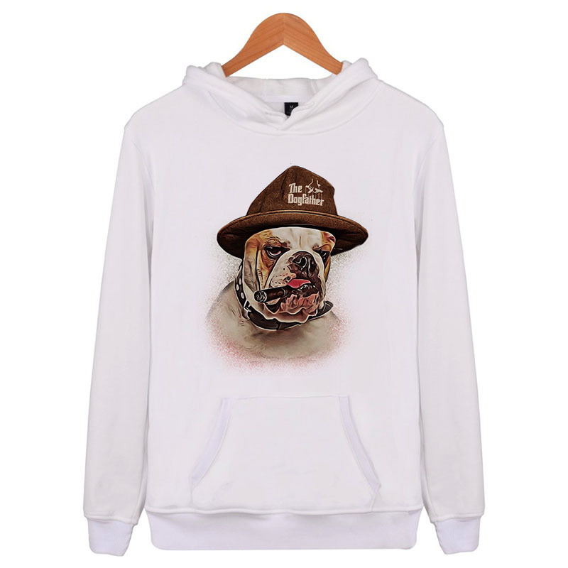 French Bulldog 2018 New Fashion Hoodie Men/woman Sweatshirt Male Hoody Hip Hop Autumn Winter Hoodie Mens Casual Xxxl E4198 Refreshing And Beneficial To The Eyes Men's Clothing