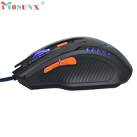 CEL 6D Gaming Mouse Optical Scroll Wired Mouse For Laptop Desktop New NOV27