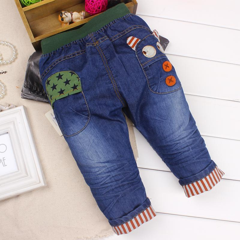 6 24 Months Baby Boy jeans pants Soft jeans trousers for