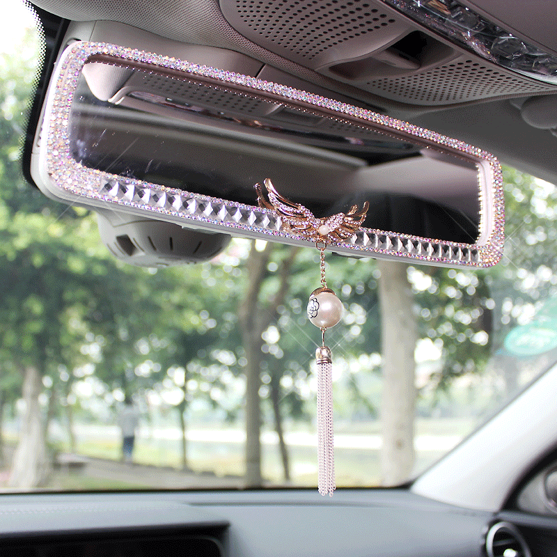 For Mitsubishi Car Rear Adjustable Wide View Baby//Child Back Seat Safety Mirror